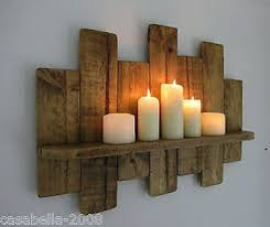pallet furniture plans bedroom furniture ideas diy. i need this built with 3 shelves reclaimed pallet wood floating shelf candle holder shabby chic country cottage furniture plans bedroom ideas diy