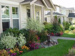 Front Yard Garden Designs New Landscape Arrangements For Your House's Front Gardening Flowers