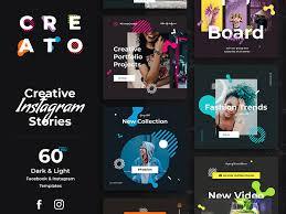 Social Media Design Templates Creato Social Media Templates By Visual Hierarchy Dribbble Dribbble