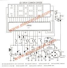 simple led clock circuit diagram meetcolab simple led clock circuit diagram the schematic circuit diagram diagram