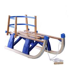 youhi natural wood snow sled solid wood children collapsible sleigh baby toy sleigh by youhi for toys in new zealand