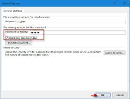 Make Word Document Read Only With Without Password