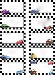Disney Cars Name Tags A4d6f5052cd7597f123664a89d565257 Disney Cars