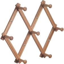 Expandable Wooden Coat Rack InterDesign Wood Expandable Rack Bamboo Walmart 4
