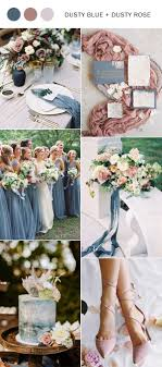 Dusty blue pink gold classic wedding ideas Rose Gold 2019 Trending Dusty Blue And Dusty Rose Wedding Color Ideas Oh Best Day Ever Neutral Archives Oh Best Day Ever