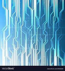 Light Digital Technological Abstract Digital Light Modern