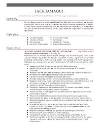 Accounts Payable Supervisor Job Description Sample Free Download