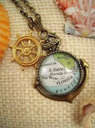 custom map jewelry key west florida keys vine by sterlingquest