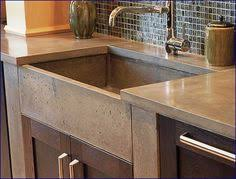 concrete farm sink.  Sink Digging The Concrete Sinks And Countertops For Farm Sink M