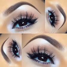 light blue eyeshadow