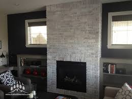 this cherokee brick was installed as a thin brick veneer in a show home of van