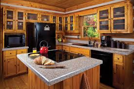 Rustic Granite Countertops Kitchen Design With Black Granite Countertops And Stainless Steel