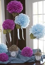 Tissue Paper Flower Centerpieces Centerpiece Tissue Paper Flowers For A Bridal Shower So