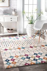amazing home the best of moroccan trellis rug at com traditional vintage grey area