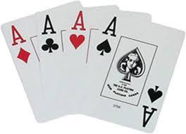 Image result for mão cheia de ases cartas