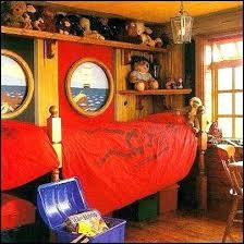 pirate themed bedroom bedrooms furniture nautical theme decorating ideas decor peter pan fur