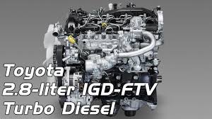 Toyota 2.8 liter 1GD FTV Turbo Diesel (Hilux & Land Cruiser) - YouTube