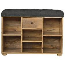 narrow storage bench. Interesting Bench Queenstown Upholstered Shoe Storage Bench In Narrow S