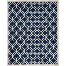navy and white outdoor rug stunning safavieh 8 x 10 blue rugs the home depot decorating