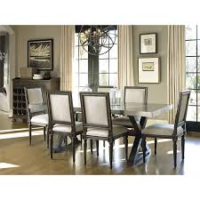dining table parson chairs interior: unique chandelier for elegant dining room design with