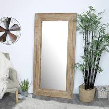 extra large rustic wooden framed wall
