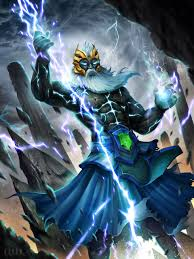 artstation dota 2 zeus arcana tempest helm of the thundergod