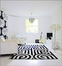 elegant black and white rugs theme design ideas plus dazzling white armed chair ideas also unique
