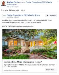 Real Estate Ad The Death Of Real Estate Facebook Ads Easy Agent Pro