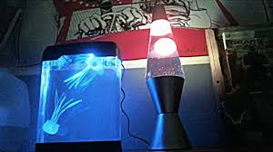 Think Geek Jellyfish Lamp And Lavalite Lava Lamp Tips On Setting Up Jellyfish Lamp In Description