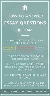 how to answer essay questions in exams paragraph college and school how to answer essay questions in exams