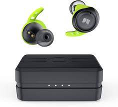 Buy Monster Isport Champion True Wireless Earbuds,Bluetooth 5.0 Headphones  with aptX Deep Bass,CVC 8.0 Noise Cancellation, IPX8 Waterproof,Type C  Quick Charge Earphones for iPhones and Android Online in Indonesia.  B08TWR5F2M