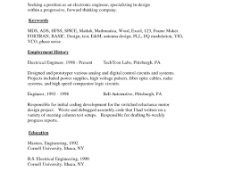 Resume Templates Simple Simple Resumes Examples Easy Resume
