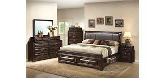best wood and leather headboard brown leather headboard storage bedroom set g8875c