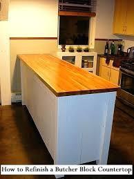 refinishing wood countertops laminate