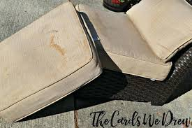 how to clean outdoor cushions cleaning patio cushions