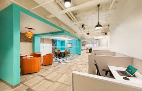 decorating ideas for office space. Blue And White Office Space Idea Decorating Ideas For