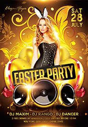 Free Easter Flyers Templates In Psd By Elegantflyer