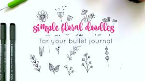 Amazing arts, drawings and paintings. How To Draw Flower Doodles Sweet Planit