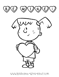 Heart Coloring Pages For Girls Printable Coloring Page For Kids