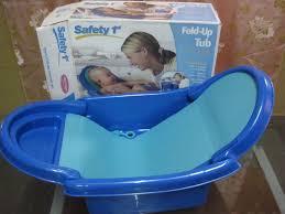 new safety 1st foldable bath tub