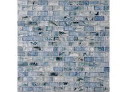 american olean visionaire serenity blue brick mosaic