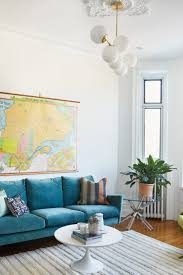 Colorful modern furniture Colored Acrylic West Elm Eclectic And Colorful Midcentury Modern Apartment In Quebec Silvershadows Eclectic Colorful In Quebec Front Main