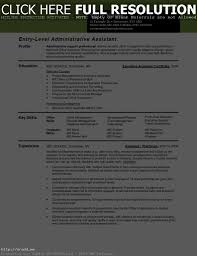 Resume Templates For Administration Job Resume Work Template