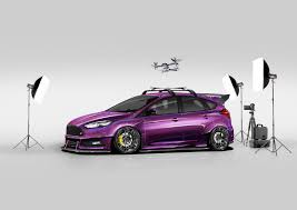 Focus St Rally Lights Ford Builds Four Wild Focus Sema Concepts Roadshow