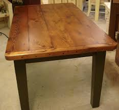 plank farm table breadboard ends dutchcrafters dining tables for wood tabletop plan 9