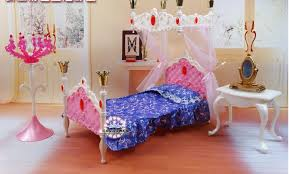 dreamlike doll bed dresser set dollhouse bedroom furniture diy accessories for barbie kurhn doll pretend barbie bedroom furniture