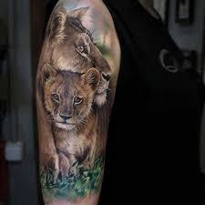lioness and cubs tattoo. Perfect Cubs Lioness U0026 Cub Tattoo January 2018 Artist Sandra Daukshta U2013  WwwfacebookcomSandraDaukshtaTattoo And Cubs Tattoo N