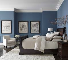 navy blue bedroom furniture. Oustanding Pretty Blue Color With White Crown Molding Home Pinterest  Wallpaper Is Other Parts Of Navy Blue Bedroom Furniture R
