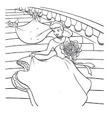 Coloring Pages Cinderella Coloring Pages Online And Prince Charming