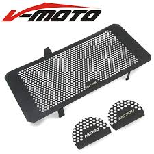 LOGO <b>Motorcycle Accessories Radiator Guard</b> Protector Grille Grill ...